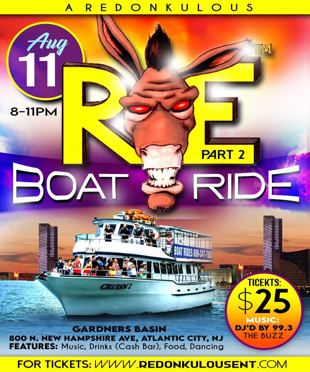 Redonkulous Boat Ride Part Two
