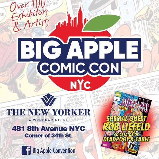 Big Apple Comic Con Silver Anniversary Prequel Expo
